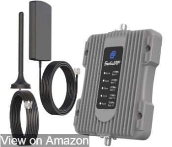 SolidRF cell phone signal booster
