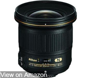 Nikon AF-S FX NIKKOR 20mm f/1.8G ED